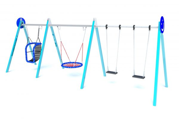 IP25 3 bay Combination swing